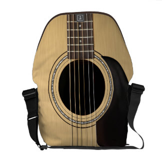 Guitarra acústica bolsa de mensajería