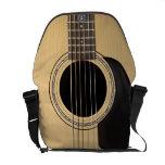 Guitarra acústica bolsas messenger