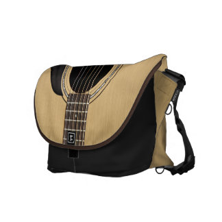 Guitarra acústica bolsas de mensajería