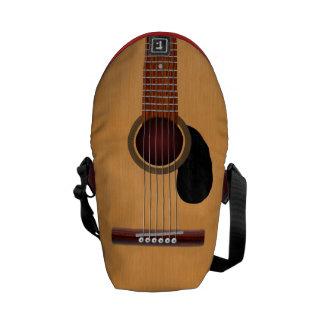 Guitarra acústica bolsa de mensajeria