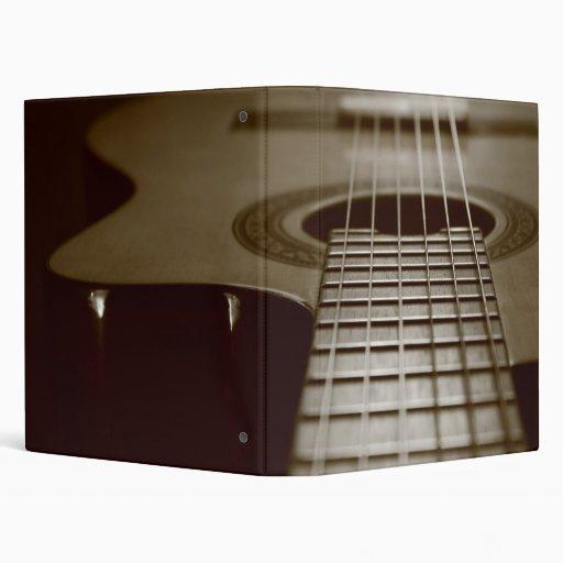 """Guitarra acústica carpeta 1"""""""