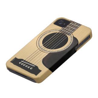 Guitarra acústica Case-Mate iPhone 4 carcasa