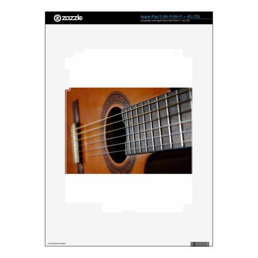 Guitarra acústica clásica iPad 3 skin