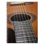 Guitarra acústica clásica libreta