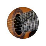 Guitarra acústica clásica reloj