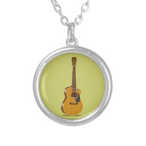Guitarra acústica cortada grimpolas personalizadas