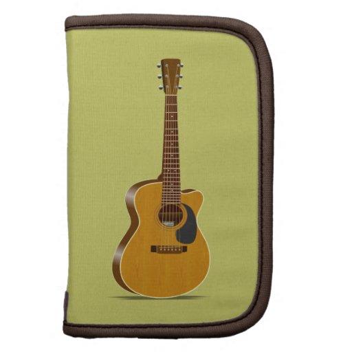 Guitarra acústica cortada planificador