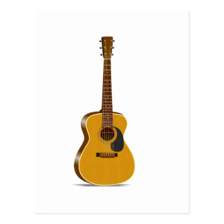 Guitarra acústica del auditorio postal