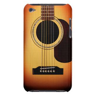 Guitarra acústica del resplandor solar Case-Mate iPod touch fundas