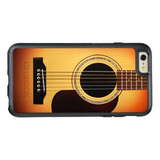 Guitarra acústica del resplandor solar funda otterbox para iPhone 6/6s plus