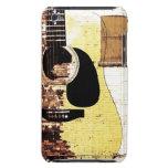 guitarra acústica en el collage del ladrillo iPod touch Case-Mate cobertura