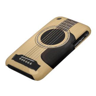 Guitarra acústica Case-Mate iPhone 3 cárcasas