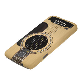 Guitarra acústica carcasa de galaxy s5