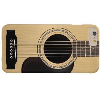 Guitarra acústica funda de iPhone 6 plus barely there