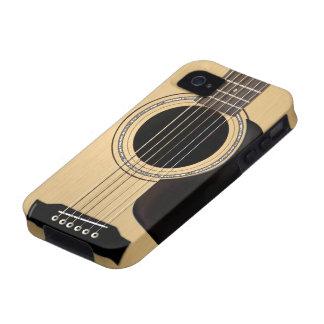 Guitarra acústica vibe iPhone 4 carcasas