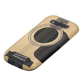 Guitarra acústica galaxy SIII carcasas