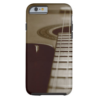 Guitarra acústica funda de iPhone 6 tough