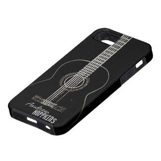 Guitarra acústica iPhone 5 cárcasas