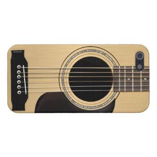 Guitarra acústica iPhone 5 cárcasa