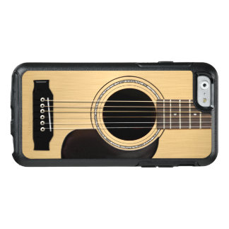 Guitarra acústica funda otterbox para iPhone 6/6s