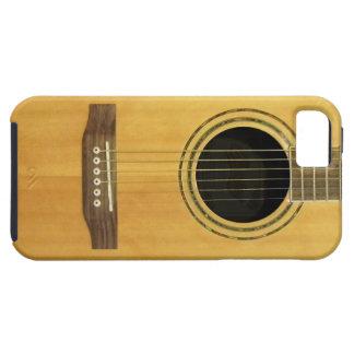 Guitarra acústica funda para iPhone 5 tough