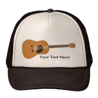 Guitarra acústica gorras de camionero
