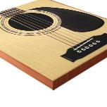 Guitarra acústica impresiones de lienzo