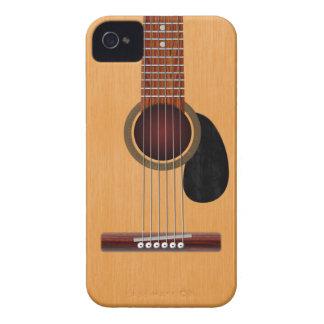Guitarra acústica iPhone 4 cárcasas