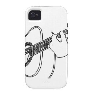 guitarra acústica iPhone 4 fundas
