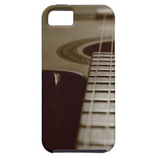 Guitarra acústica iPhone 5 carcasa
