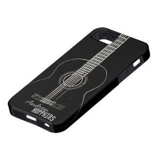 Guitarra acústica iPhone 5 fundas