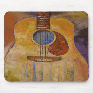 Guitarra acústica Mousepad