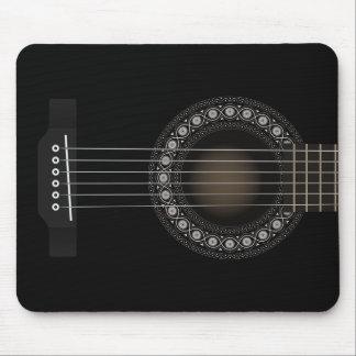 Guitarra acústica Mousepad Alfombrillas De Raton