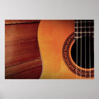 Guitarra acústica posters