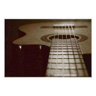 Guitarra acústica cojinete