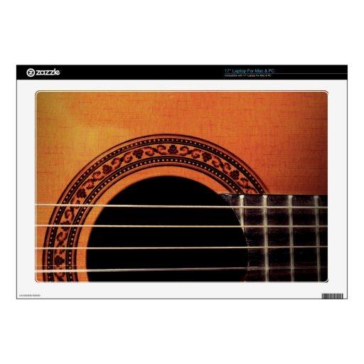 Guitarra acústica portátil calcomanías