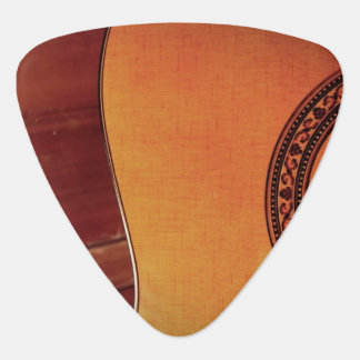 Guitarra acústica púa de guitarra