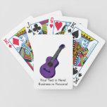 guitarra acústica purple.png simple gráfico baraja cartas de poker