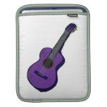 guitarra acústica purple.png simple gráfico manga de iPad