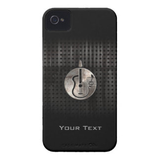 Guitarra acústica rugosa Case-Mate iPhone 4 fundas