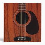 Guitarra acústica superior de caoba