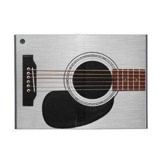 Guitarra acústica superior de plata iPad mini carcasa