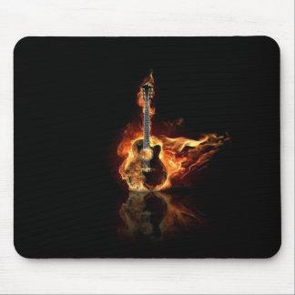 Guitarra acústica tapete de ratones