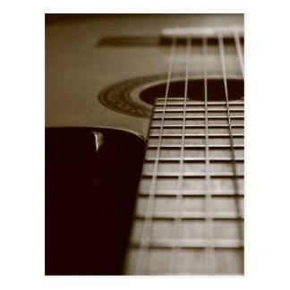 Guitarra acústica postales