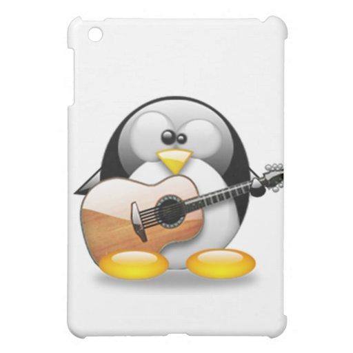 Guitarra acústica Tux (Linux Tux)