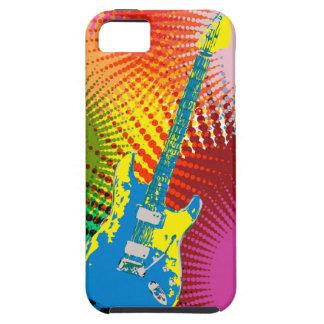 Guitarra americana del arte del estallido con iPhone 5 carcasas