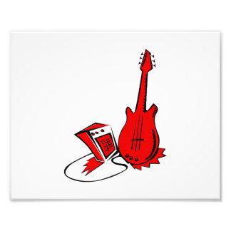 guitarra amperio red.png estilizado fotografía