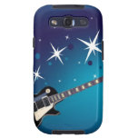 Guitarra - azul samsung galaxy s3 fundas