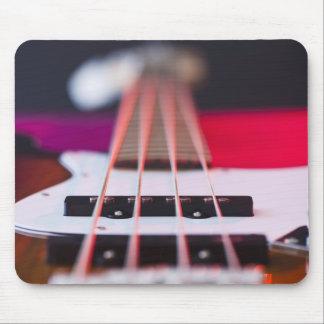 Guitarra baja 3 mouse pad