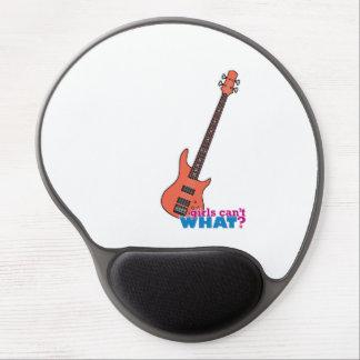 Guitarra baja alfombrilla con gel